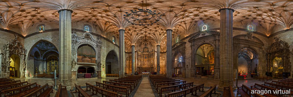 Visita virtual 360º de la catedral de Barbastro